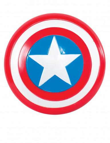Captain America™-Schutzschild für Kinder Lizenzartikel blau-rot-weiss