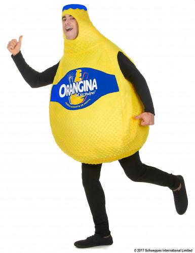 Orangina™ Flasche Kostüm gelb-1