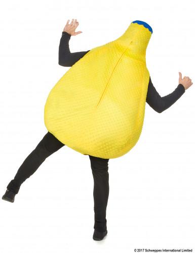 Orangina™ Flasche Kostüm gelb-2