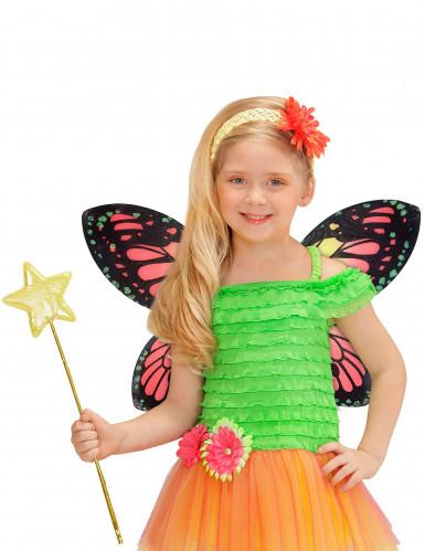 Schmetterlingsflügel farbig für Mädchen-1