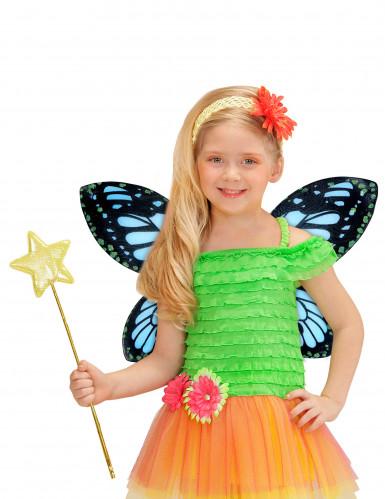 Schmetterlingsflügel schwarz für Mädchen-1