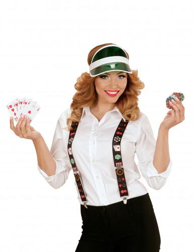 Hosenträger Pokerspieler für Erwachsene-1
