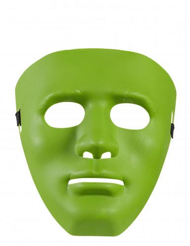 Grüne Phantom-Maske für Erwachsene-1