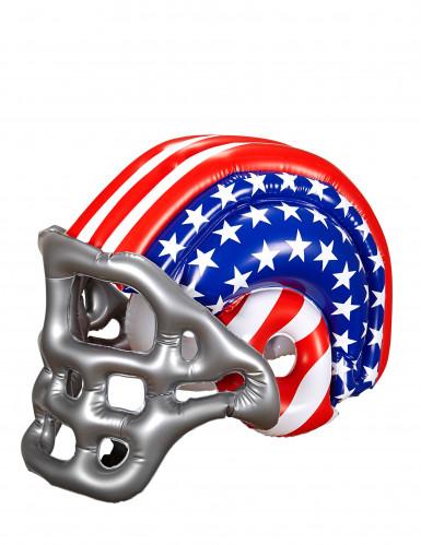 Aufblasbarer Footballhelm USA für Erwachsene