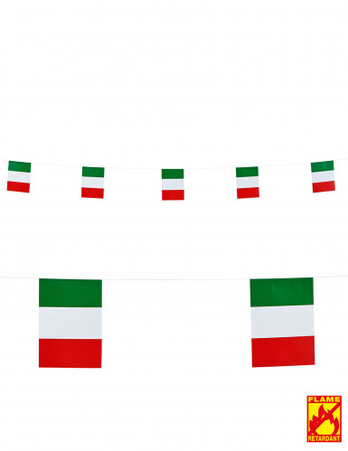 Fahnengirlanden Italien 15 X 20 cm