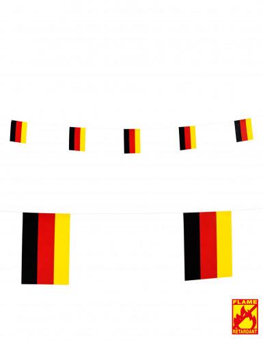Girlande Deutschlandflagge, 15 x 20 cm