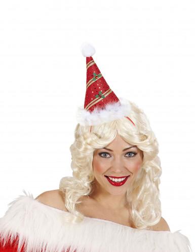 Spitzer Hut mit Stechpalme für Erwachsene