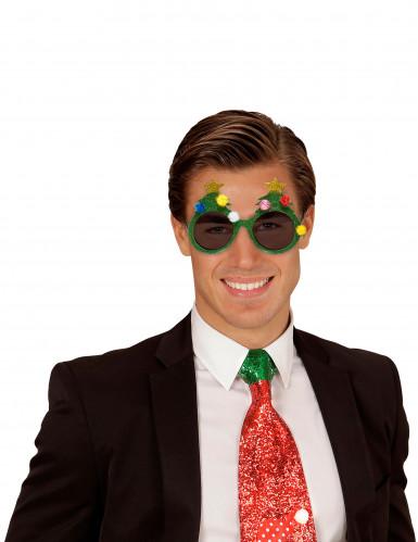 Weihnachtsbaumbrille für Erwachsene