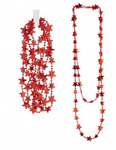Kette mit roten Sternen für Erwachsene -2