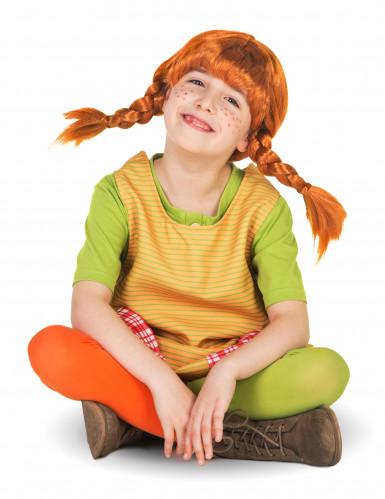 Pippi Langstrumpf™ Perücke für Kinder