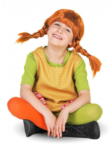 Pippi Langstrumpf™ Perücke für Kinder-1