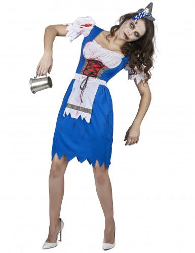 Zombie Bayerin Kostüm für Damen