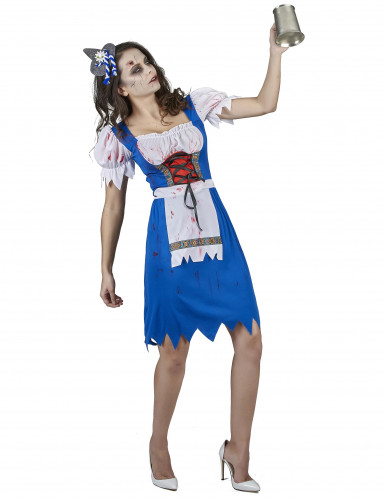 Zombie Bayerin Kostüm für Damen-1