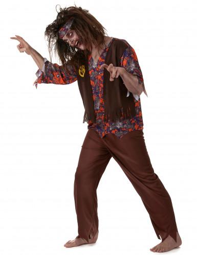 Zombie Hippie Kostüm für Herren-1