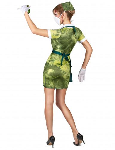Kostüm radioaktive Krankenschwester für Damen-2