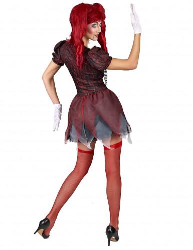 Schaurige Puppe Kostüm für Damen-2