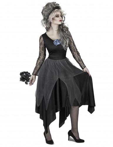 Düstere Braut Kostüm für Damen-1
