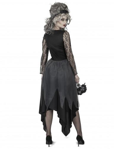 Düstere Braut Kostüm für Damen-2
