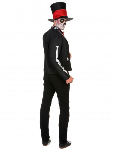 Skelett Kostüm für Herren Dia de los Muertos-2