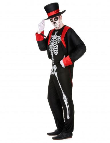 Schickes Skelettkostüm für Herren-1