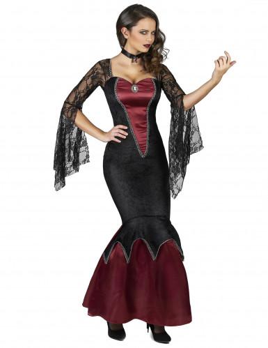 Kostüm gefährliche Schönheit für Damen-1