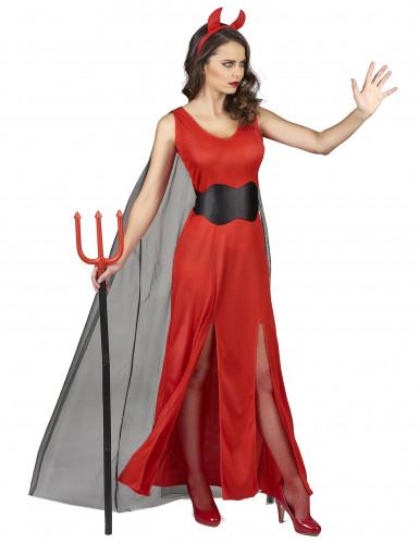 Dämonenhaftes Kostüm für Damen -1