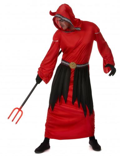 Langes Teufelkostüm für Herren-1