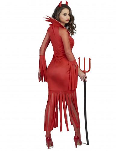 Feuerdämon Kostüm für Damen-2