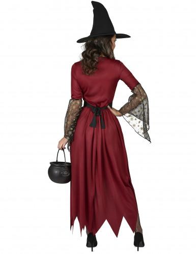 Hexenkostüm rot für Damen-2