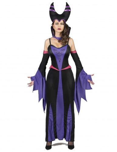 Kostüm Magierin violette Dame