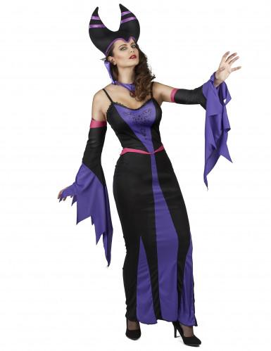 Kostüm Magierin violette Dame-1