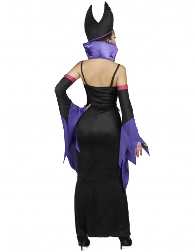 Kostüm Magierin violette Dame-2