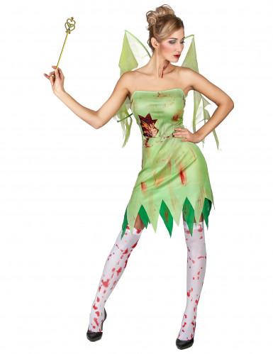 Kostüm blutverschmierte grüne Fee