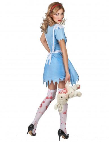 Kostüm blutverschmierte Alice für Damen-2