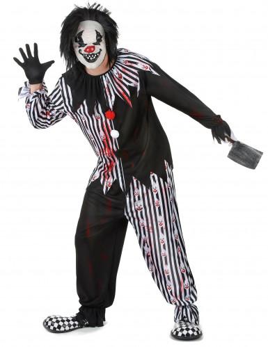 Psycho Clownskostüm für Erwachsene