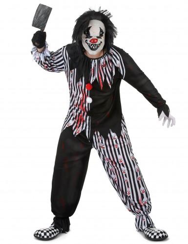 Psycho Clownskostüm für Erwachsene-1