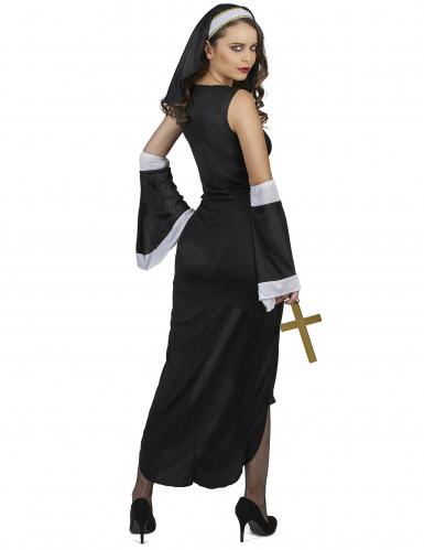 Sexy Nonne Kostüm für Damen-2