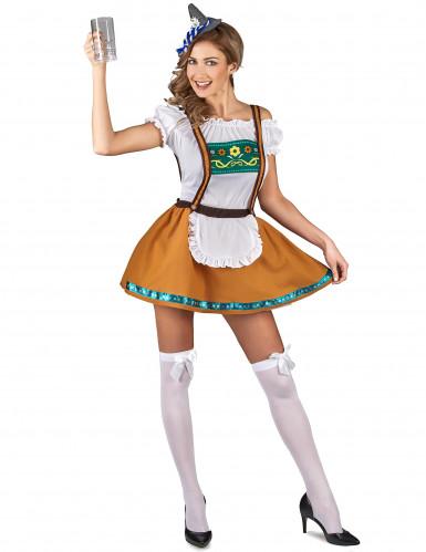 Bayerisches Dirndl Kostüm für Damen