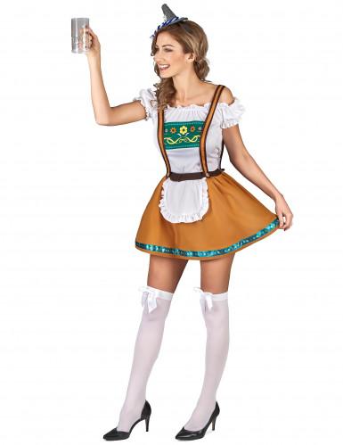 Bayerisches Dirndl Kostüm für Damen-1
