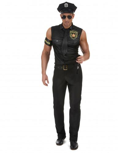 Kostüm sexy Polizist für Herren-1