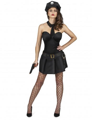 Sexy Polizistin Kostüm für Damen