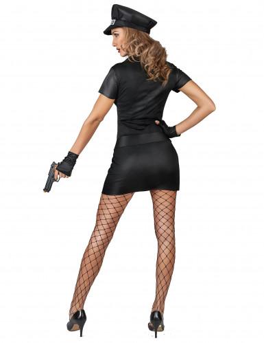 Freche Polizistin Kostüm für Damen-2