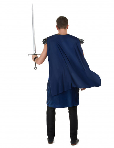 Ritterkönig-Kostüm für Herren schwarz-blau-2