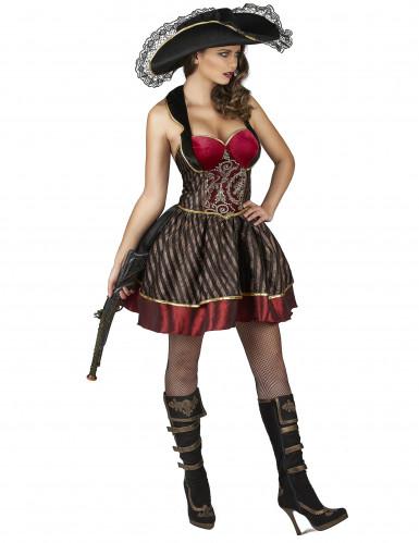 Piratenkostüm für Damen im Barockstil-1