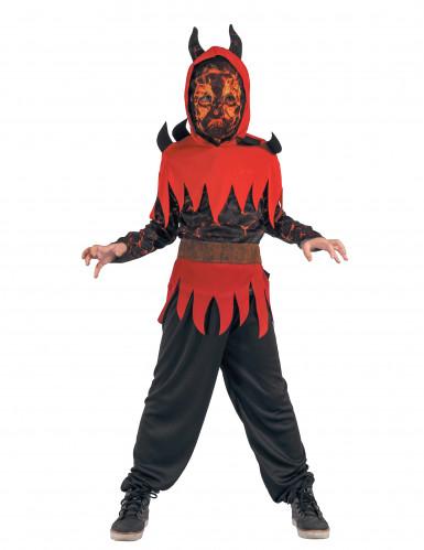 Feuerdämon Kostüm für Jungen