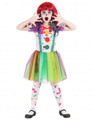 Kostüm Malerclown für Mädchen