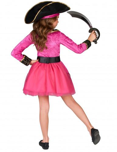Pinkes Piratenkostüm für Mädchen-2