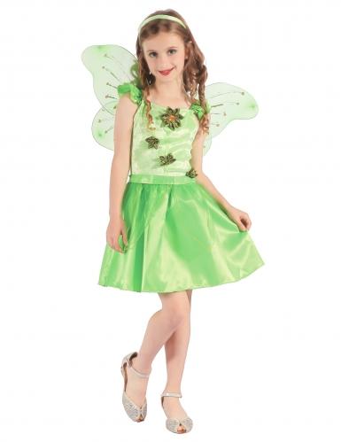 Kostüm grüne Fee für Mädchen