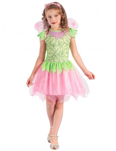 Feenkostüm für Mädchen in rosa-grün