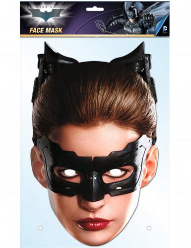Catwoman™Maske aus Karton-2